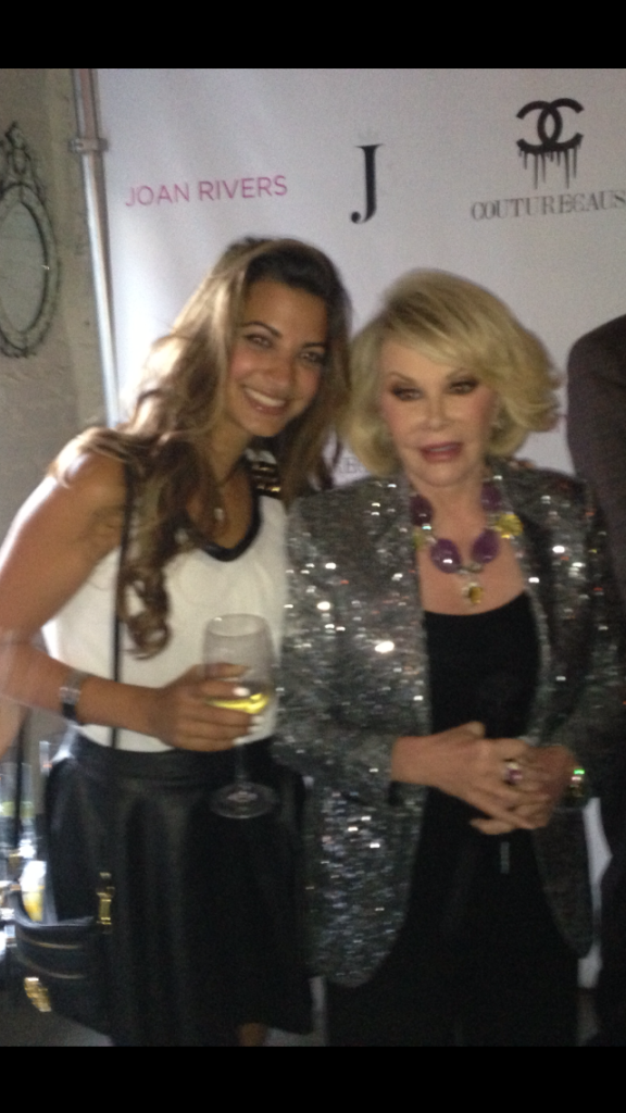 Joan Rivers must have her own bottle too! Summer of 2013.